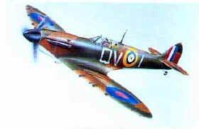 Supermarine Spitfire Poster by P Oliver.