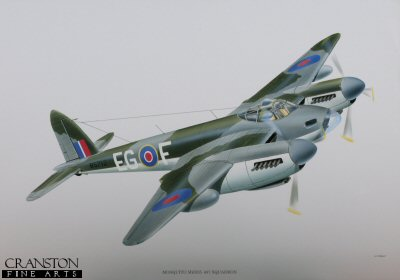 Mosquito Poster by P Oliver.