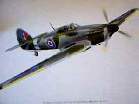 Hurricane Poster by P Oliver.