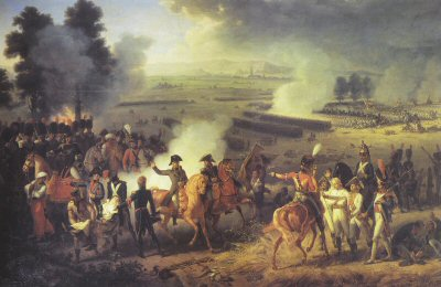 Battle of Marengo by Jacques Augustin Pajou.