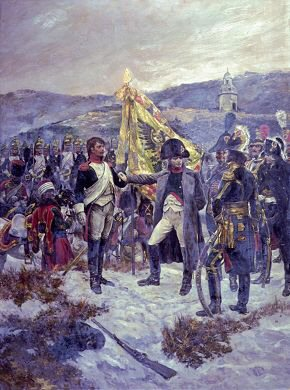 Napoleon Awarding the Legion of Honour by Richard Caton Woodville.
