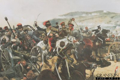 Relief of the Light Brigade by Richard Caton Woodville.