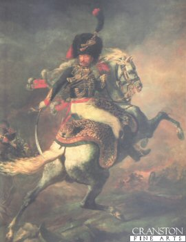 Officer de Chasseur Cheval by Theodore Gericault.