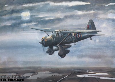 A Westland Lysander by Gleed.