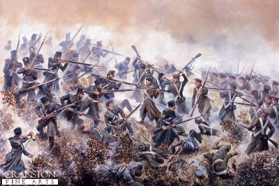 The 20th Foot at the Battle of Inkerman, 5th November 1854 by David Rowlands (B)