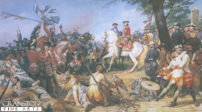 Battle of Fontenoy by Horace Vernet (GS)