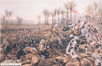 Battle of Atbara 1898 by Stanley Berkeley.