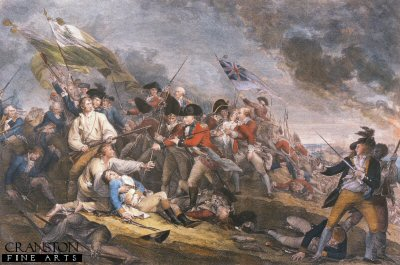 Bunkerhill, 1775 by John Trumble.