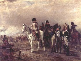 The Decisive Moment at Waterloo by Robert Hillingford (GS)