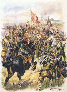 Harolds Last Stand, Battle of�Hastings by Harry Payne.