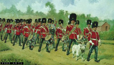 Royal Welch Fusiliers Band by Richard Simkin.