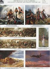 VOL6. Cranston Fine Arts Military Art Catalogue (Volume 6) <p> Volume Six book catalogue shows 215 military, naval and aviation art prints, with a majority of these prints being of World War II naval and aviation and tank prints and an excellent selection of 19th century maritime editions with some American Civil War and Prussian Napoleonic and Franco-Prussian war prints  by 19th Century military artists and modern artists Chris Collingwood, David Pentland, Randall Wilson, Anthony Saunders and Montague Dawson. <b><p>Full colour book catalogue.<p>Size 12 inches x 9 inches approx.
