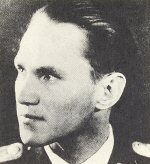 Walter Krupinski first saw combat against the RAF on the Western Front. Transferring to the east, he became a Squadron Commander in the legendary JG52. In 1943 his victories reached 150 but, in March 1944 with 177 victories to his name, he was transferred to Germany to command JG11. Flying high altitude Me109s, he chalked up another 12 victories before being wounded. In September 1944 he was promoted Kommandeur of III./JG26 and led them on Operation Bodenplatte before joining Galland's famous JV44. He completed the war with 197 victories in over 1100 missions.