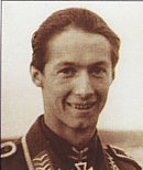 Initially with JG3, Walter Schuck was posted north to 7./JG5 in April 1942. On 15 June 1944 he chalked up his 100th victory during a day when he shot down 6 aircraft. Two days later he had his most successful day, achieving 12 victories in twenty-four hours, a feat never surpassed in JG5. On 1 August, he assumed command of 10./JG5. Walter Schuck transferred to fly the Me262 as Staffelkapitan of 3./JG7, and achieved 8 further victories flying the new jet. His final tally was 206 air victories. He was awarded the Knights Cross with Oak Leaves.