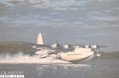 Short Sunderland Mk.V RN273 of 201 Sqn RAF by Keith Woodcock.