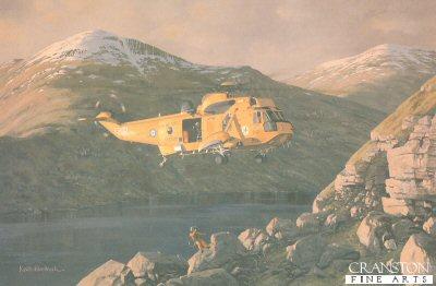 Westland Sea King SAR.3 XZ585 of 202 Sqn RAF by Keith Woodcock.