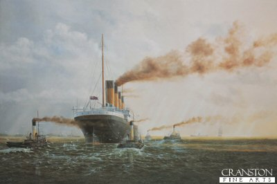 Titanic Sea Trials Completed by E. D. Walker.