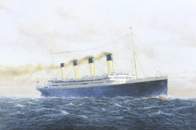 Titanic Maiden Voyage by E. D. Walker.