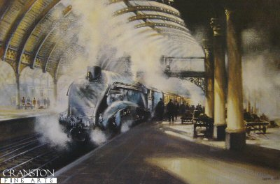 Arrival at York by David Weston