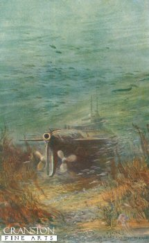 A Submarine Taking a Rest by W L Wyllie.