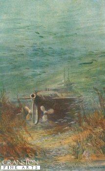 A Submarine Taking a Rest by W L Wyllie.