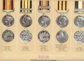 Zulu War Medals